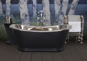 bulle copper bath painted