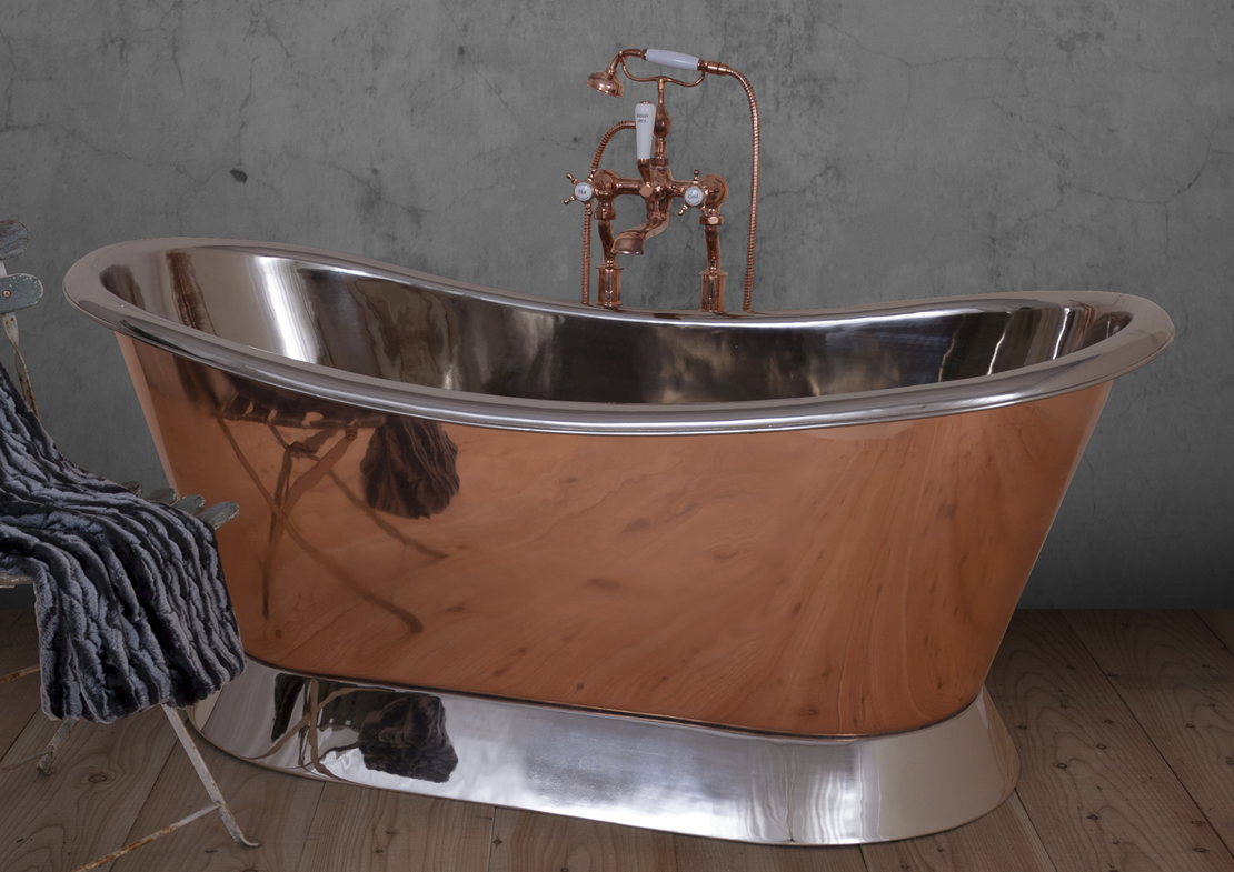 copper bateau nickel interior plinth Thumb