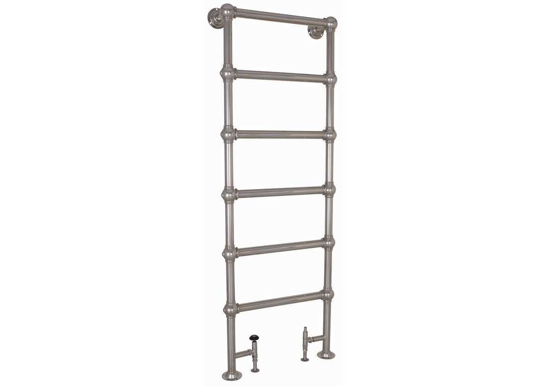 nickel grandis towel warmer 650x1800