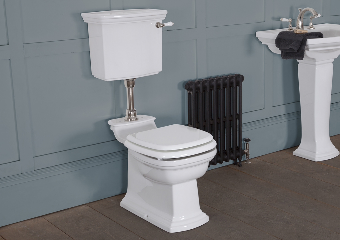 chichester low level toilet white Thumb