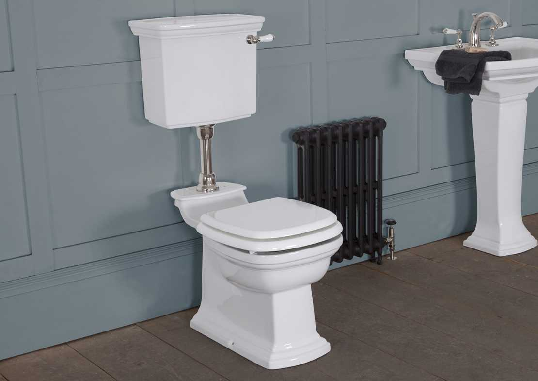 chichester low level toilet white