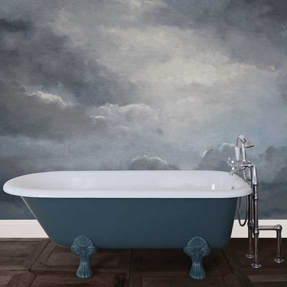 milton cast iron bath