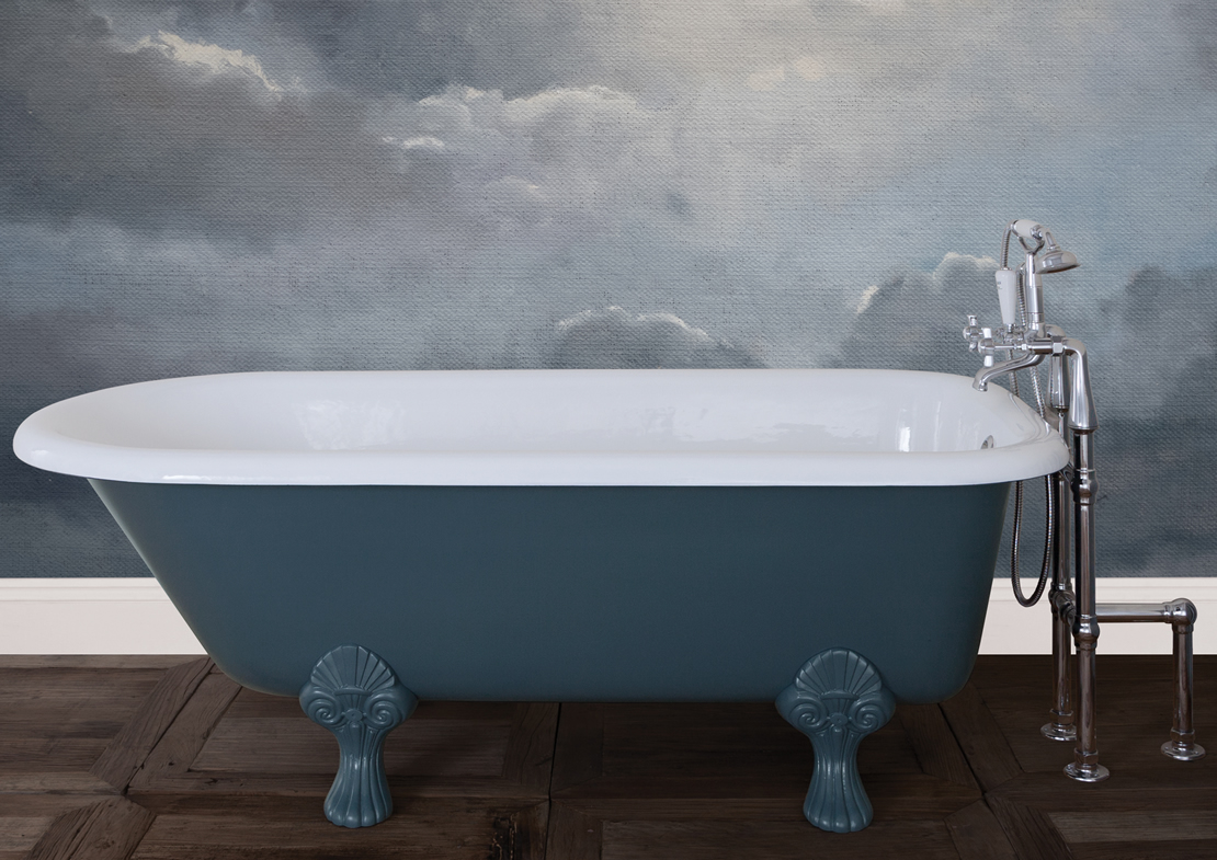 milton cast iron bath painted Thumb