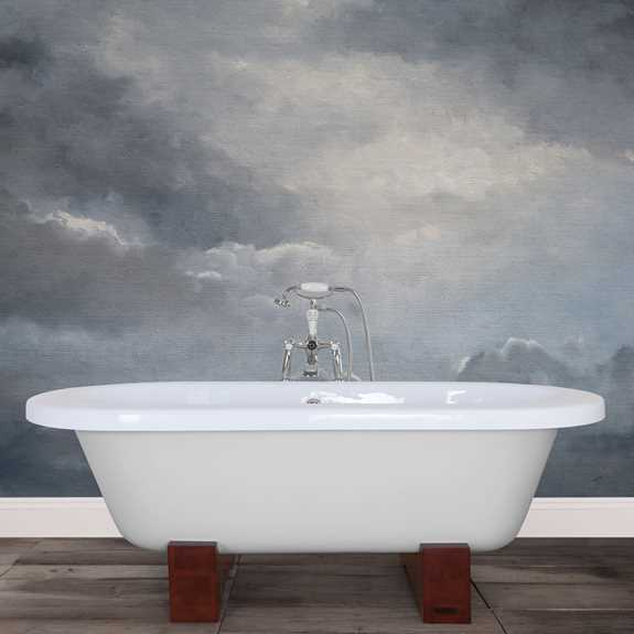 saville cast iron bath
