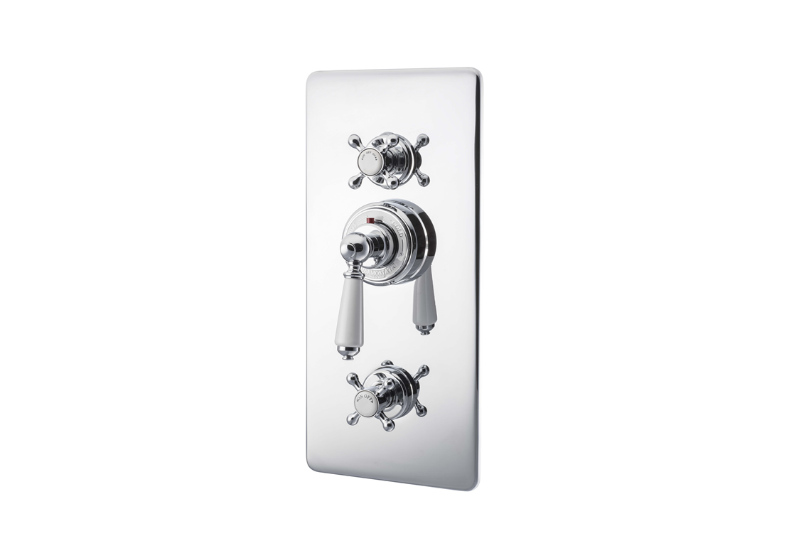 concealed thermostatic shower valve lever chrome Thumb