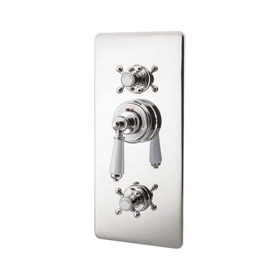 concealed thermostatic shower valve lever