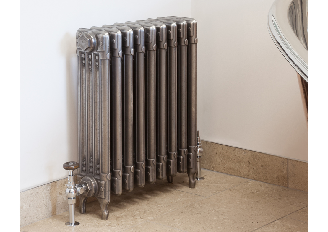 sudbury cast iron radiator hand burnished Thumb