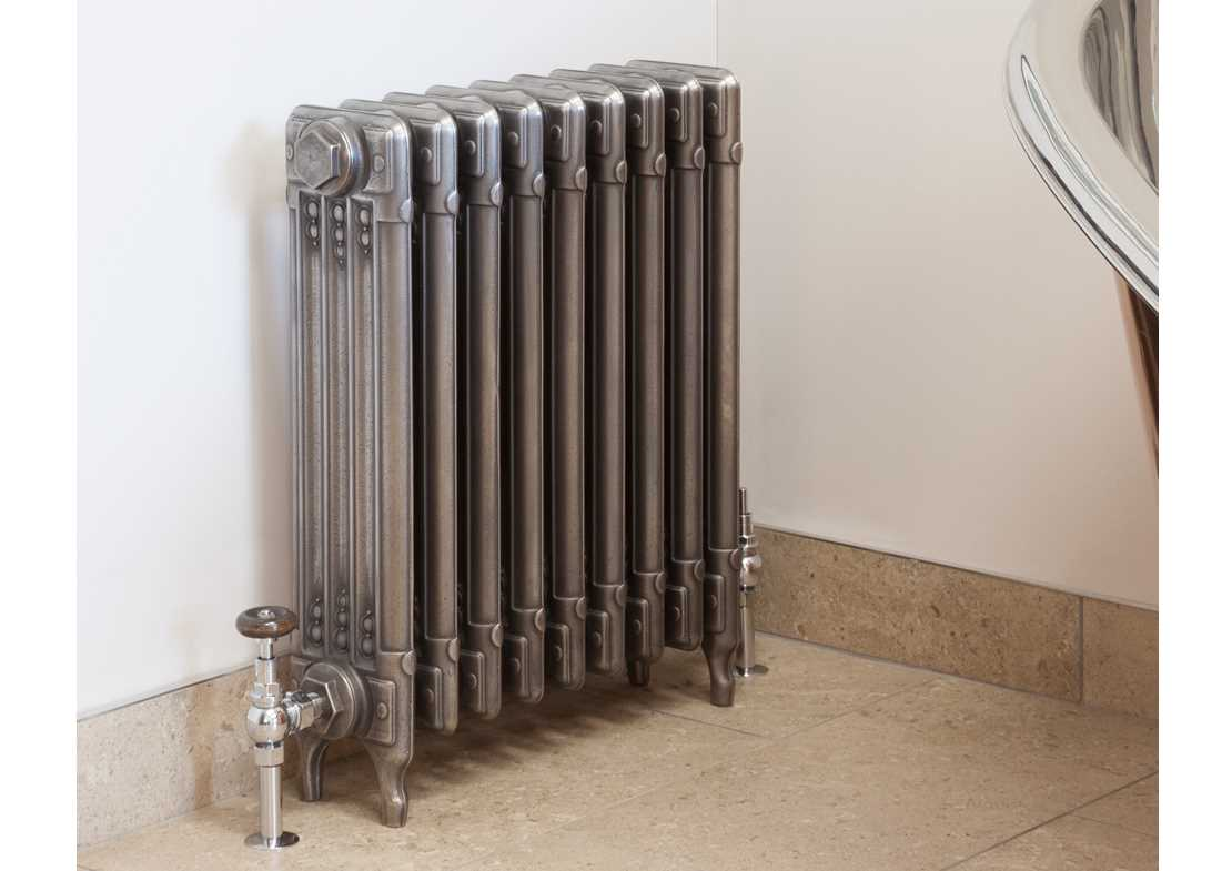 sudbury cast iron radiator hand burnished