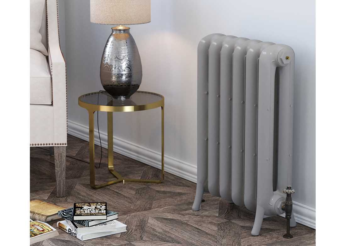 sheringham cast iron radiator painted