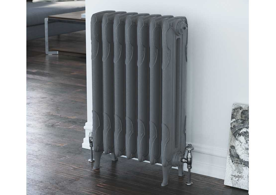 lynford 2 column cast iron radiator painted