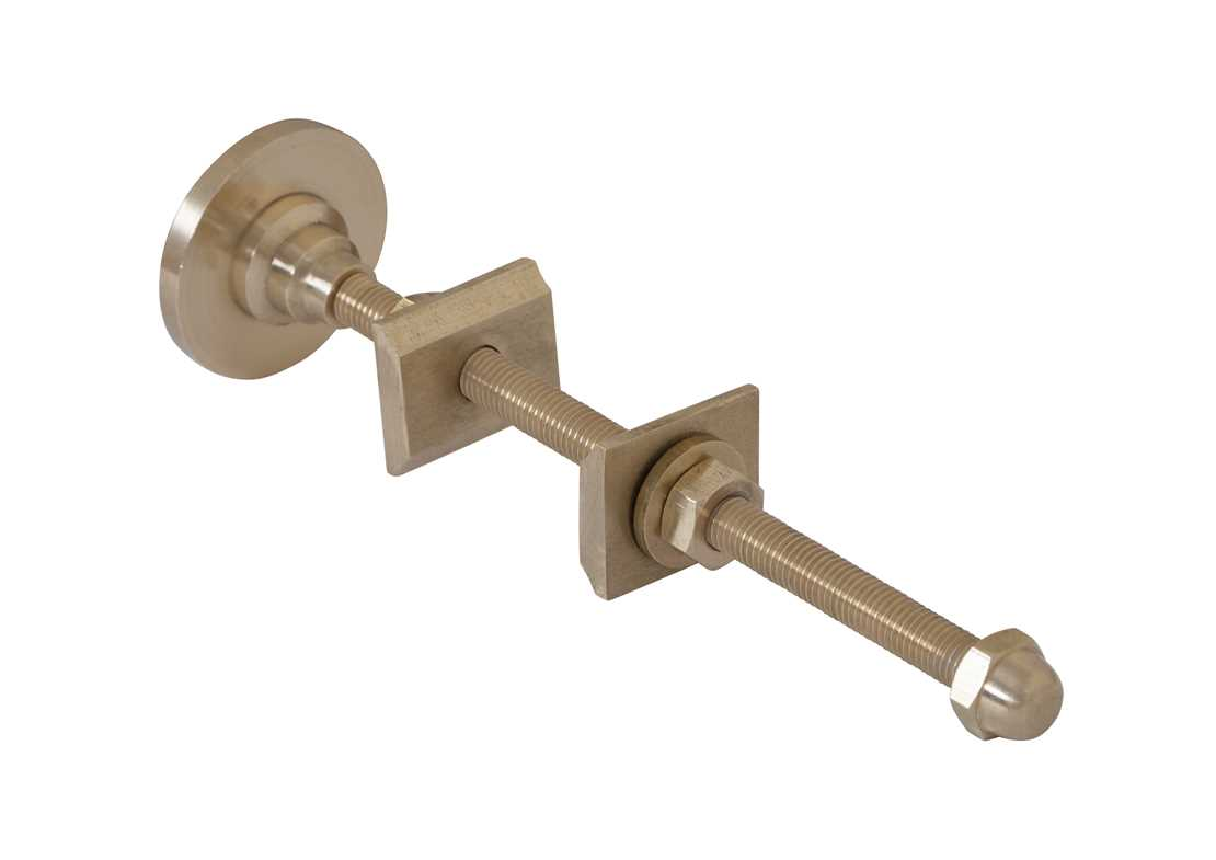 wall stay 200mm brass finish