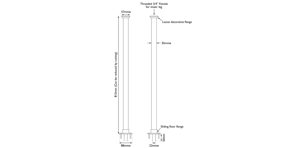 stand pipe measurements