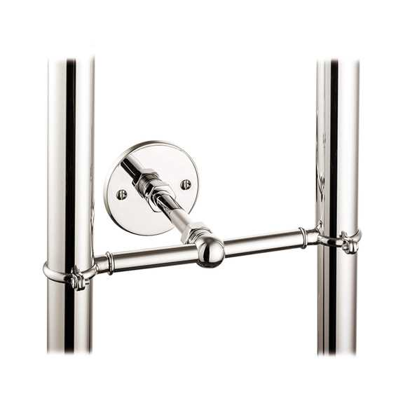 stand pipe support bracket nickel