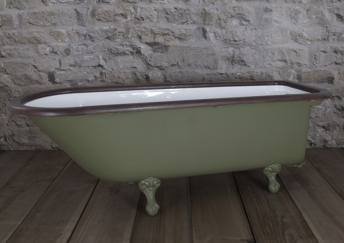 squires antique bath painted Thumb