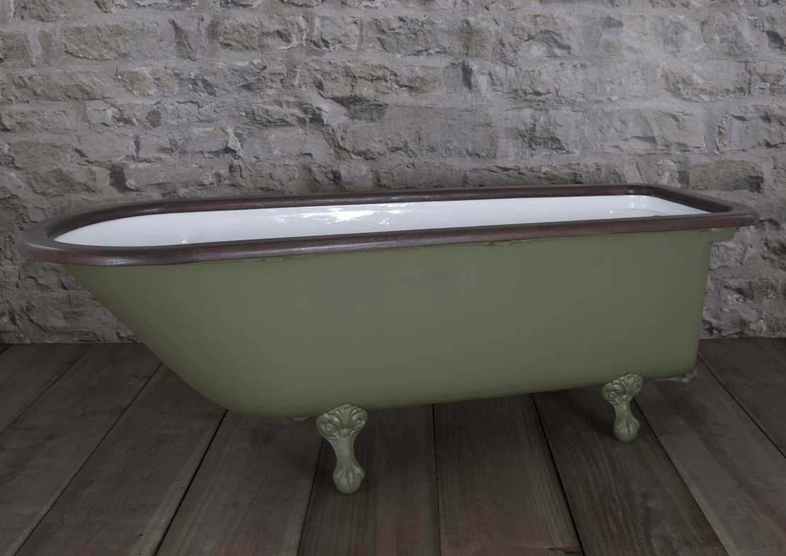 squires antique bath painted
