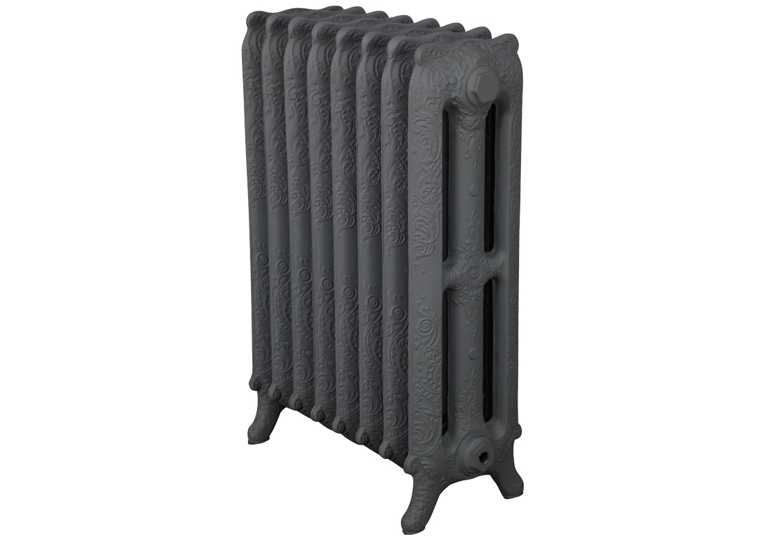 orford 3 column 780mm cast iron radiator farrow and ball down pipe Thumb