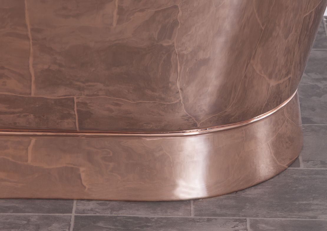 alverton copper bath copper interior exterior base Thumb
