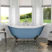 lindley cast iron bath