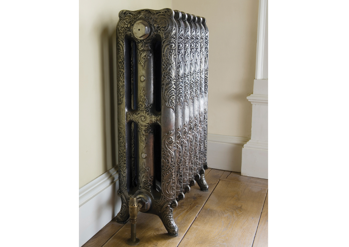 orford 3 column hand burnished cast iron radiator Thumb
